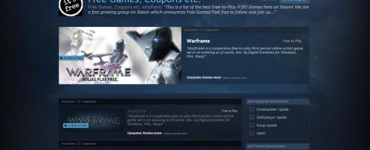Einer der ersten Steam Kuratoren über die besten Free-to-Play Spiele auf Steam!