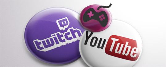Twitch und Youtube – Liveübertragungen von mir!